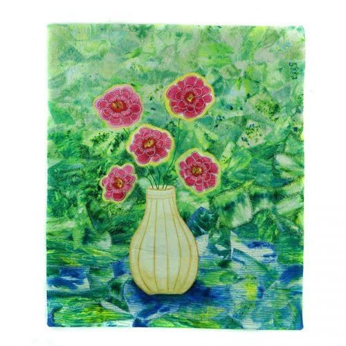 Five Flowers 6x6 150